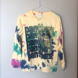 Tie dyed pitt panthers T-shirt